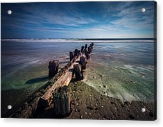 Acrylic Print featuring the photograph Folly Beach by RC Pics