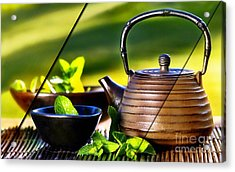Food Collection Acrylic Print by Marvin Blaine