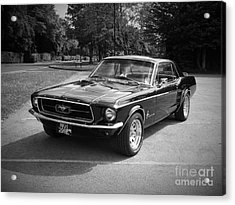 Ford Mustang Acrylic Print