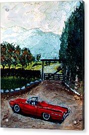 Ford Acrylic Print by Stan Hamilton