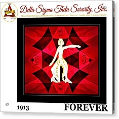 Forever Delta Acrylic Print