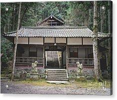 Forrest Shrine, Japan Acrylic Print