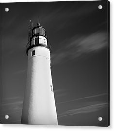 Acrylic Print featuring the photograph Fort Gratiot Lighthouse by Gordon Dean II