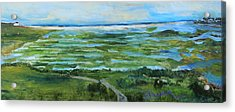 Fort Hill Panorama Acrylic Print