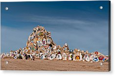 Acrylic Print featuring the photograph Fort Irwin by Jim Thompson