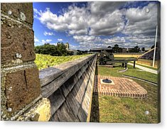 Fort Moultrie Cannon Acrylic Print