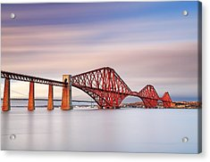 Forth Railway Bridge Acrylic Print by Grant Glendinning