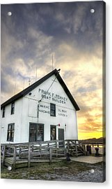 Frank F. Penney Boat Builder Acrylic Print