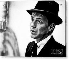 Frank Sinatra Collection Acrylic Print by Marvin Blaine