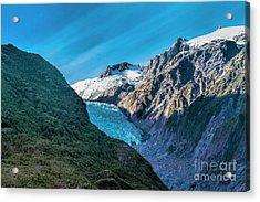Franz Josef, New Zealand Acrylic Print by Elaine Teague