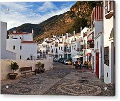 Frigiliana Street Scene, Costa Del Sol Acrylic Print by Panoramic Images