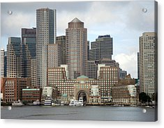 From Boston Harbor Acrylic Print