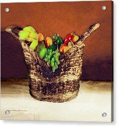 Fruit  Art 11 Acrylic Print