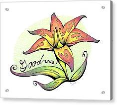 Fruit Of The Spirit Series 2 Goodness Acrylic Print