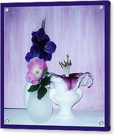 Full Bloom Acrylic Print by Marsha Heiken