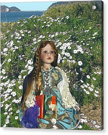 Gabriella Elizabeth Rossetti Acrylic Print by Adrianne Wood