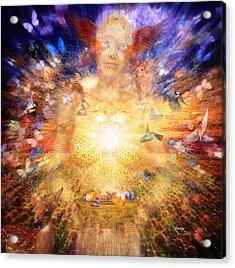 Gaia's Vibe Acrylic Print by Robby Donaghey