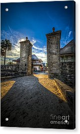 Gate To The City Acrylic Print by Marvin Spates