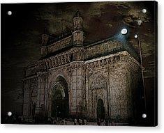 Gate Way Of India Acrylic Print by Manjot Singh Sachdeva