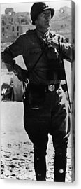 General George S. Patton Jr. 1885-1945 Acrylic Print