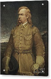 George Armstrong Custer Acrylic Print by American School