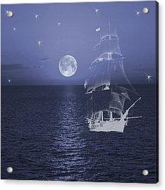 Ghost Ship Acrylic Print
