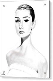 Girl No.203 Acrylic Print by Yoshiyuki Uchida