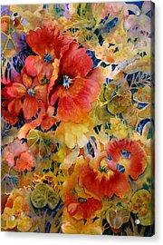 Glow Acrylic Print by Ann  Nicholson