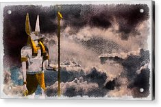 Gods Of Egypt - Anubis Acrylic Print