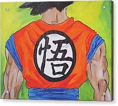 Goku Kanji Acrylic Print