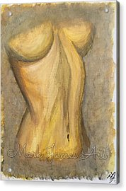 Gold Lust Acrylic Print by Mark James