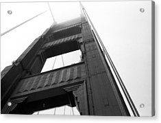 Golden Gate Tower 2 Acrylic Print by Mark Fuller