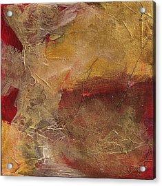 Golden Ruby Acrylic Print