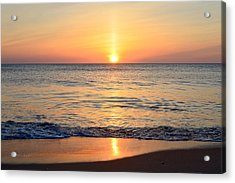 Acrylic Print featuring the photograph Golden Sunrise  by Barbara Ann Bell
