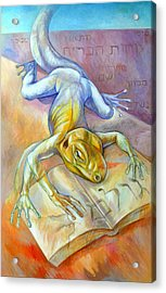 Golem Acrylic Print by Filip Mihail