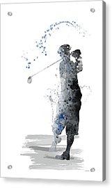 Golfer Acrylic Print