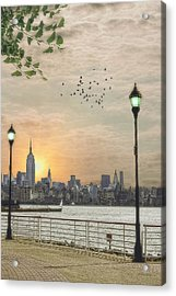 Good Morning New York Acrylic Print by Tom York Images