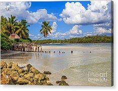 Acrylic Print featuring the photograph Gordon Pass Naples Florida by Hans- Juergen Leschmann