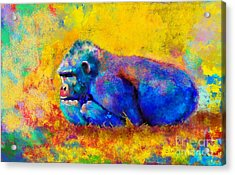 Gorilla Gorilla Acrylic Print by Betty LaRue