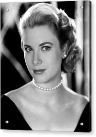 Grace Kelly, 1953 Acrylic Print by Everett