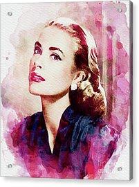 Grace Kelly, Vintage Actress Acrylic Print