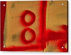 Graffiti Acrylic Print by Robert Ullmann