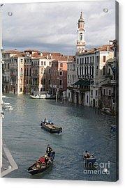 Gran Canal. Venice Acrylic Print by Bernard Jaubert