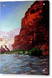 Grand Canyon II Acrylic Print by Stan Hamilton