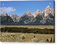 Grand Teton Wy Acrylic Print