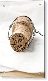Grand Vin De Champagne Acrylic Print by Frank Tschakert