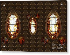 Graphic Art From Photo Library Of Photographic Collection Of Christian Churches Temples Of Place Of  Acrylic Print