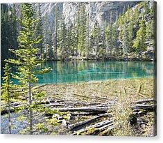 Grassi Lakes Acrylic Print