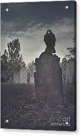 Graveyard Acrylic Print by Jelena Jovanovic