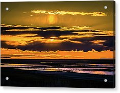 Great Salt Lake Sunset Acrylic Print